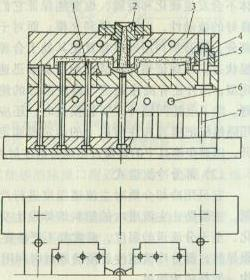典型的热固性塑料注射模结构
